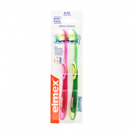 Elmex Brosse à dents junior 6-12 ans - x2