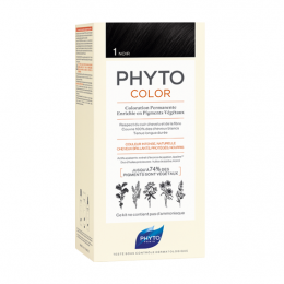 Phyto Phytocolor  Kit de coloration permanente - 1 Noir