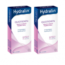 Hydralin gel quotidien lavant - 2x400ml