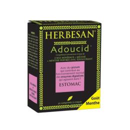 Herbesan Adoucid - 30 comprimés à croquer