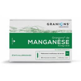Granions de Manganèse - x30 ampoules