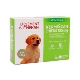 Clément Thékan  VermiScan chiens 100mg - 6 comprimés