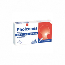 Pholcones bismuth adultes - x8 suppositoires