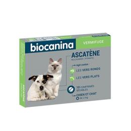 Biocanina Ascatène Vermifuge - 10 comprimés