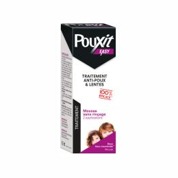 Pouxit easy mousse anti-poux et lentes - 100ml