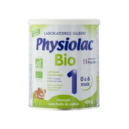 Physiolac lait 1er Age BIO - 400g