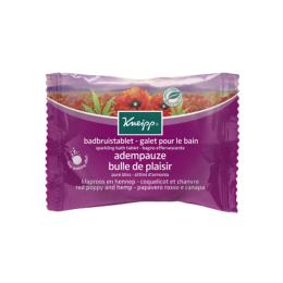 Kneipp galet pour le bain coquelicot et chanvre - 80g