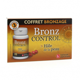 Natural nutrition bronz control - 3x30 capsules