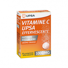 UPSA Vitamine C 1000mg - 20 comprimés effervescents