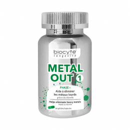 Biocyte Metal out 1 - 90 gélules