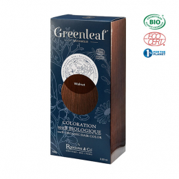 Greenleaf botanique Coloration BIO Walnut (Chatain) - 100g