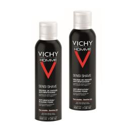 Vichy Mousse de rasage anti-irritations - 2x200ml