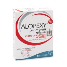 Alopexy 5% Solution pour application cutanée - 3x60ml