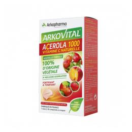 Arkopharma Arkovital Acérola 1000 - 30 comprimés à croquer
