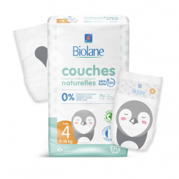 Biolane Couches eco-responsables Taille 4 - 44 couches