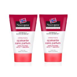 Neutrogena Crème mains apisante sans parfum -2x50ml