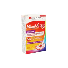 Forté Pharma MultiVit' 4G Sénior -30 comprimés