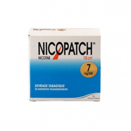 Nicopatch 7mg/24h dispositif transdermique - 28 patchs