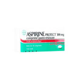 Aspirine Protect 100mg - x30 comprimés