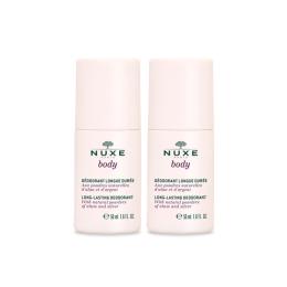 Nuxe body déodorant longue durée - 2x50ml