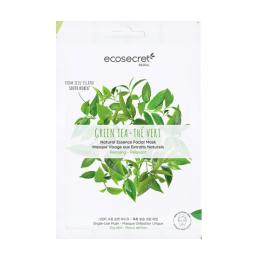 Eco Secret Masque visage Relaxant à l'extrait naturel de Thé vert