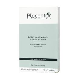 Placentor lotion biostimulante anti-chûte de cheveux - 10x5ml