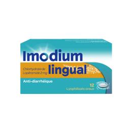 Imodiumlingual 2mg - 12 Lyophilisat