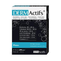 Aragan Synactifs Dermactifs Peau 30 gélules