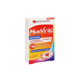Forté Pharma Multivit' 4G Défenses - 30 comprimés