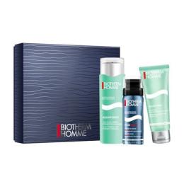 Biotherm Homme Coffret Aquapower mousse de rasage + soin hydratant + gel douche