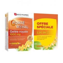 Forté Pharma Gelée royale 1000 mg - 2x20 Ampoules