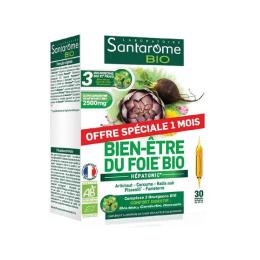 Santarome Bien Être du foie Pack promotionnel - 30 ampoules