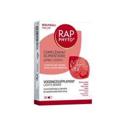 Rap Phyto Complément alimentaire jambes légères- 30 gélules