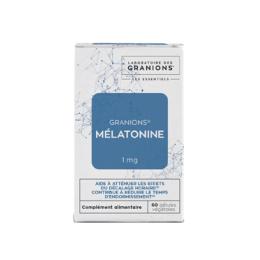 Granions mélatonine 1 mg - 60 gélules