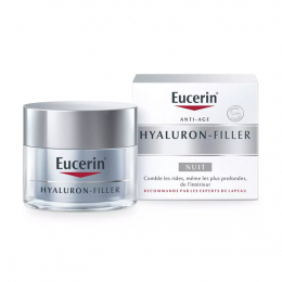 Eucerin Hyaluron-Filler Soin de Nuit Anti-âge - 50ml