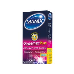 Manix Orgazmax plus - 14 préservatifs