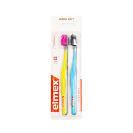 Elmex brosse à dents ultra soft - x2
