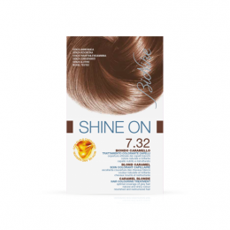 Bionike Shine on soin coloration - 7.32 Blond caramel