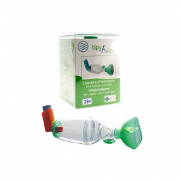 TipsHaler chambre d'inhalation nourrisson 0-1 an