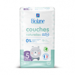 Biolane Couches eco-responsables Taille 5 - 40 couches