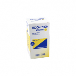Fixical Vitamine D3 1000mg/800UI - 30 comprimés