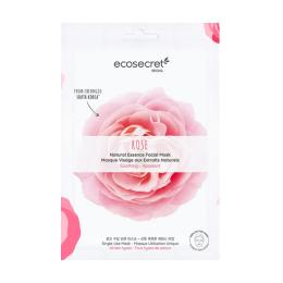 Eco Secret Masque visage Apaisant à l'extrait naturel de Rose