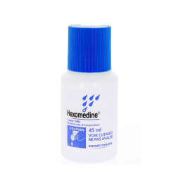 Hexomedine 1 pour mille solution - 45ml
