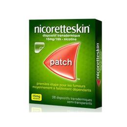 NicoretteSkin 15mg/16H - 28 patchs