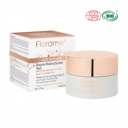 Florame Age intense Baume restructurant nuit BIO - 50ml