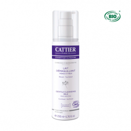 Cattier lait démaquillant bio - 200ml
