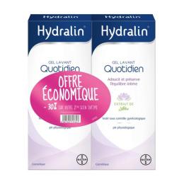 Hydralin Quotidien Gel lavant - 2x400ml