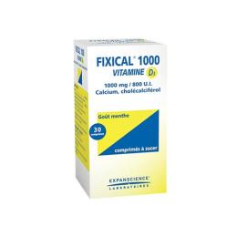 Fixical Vitamine D3 1000mg/800UI - 30 comprimés