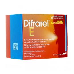 Difrarel E - 60 comprimés enrobés
