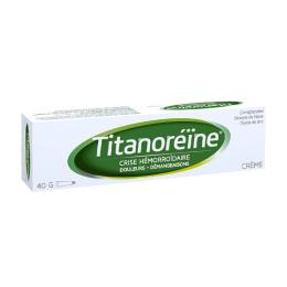 Titanoreïne crème tube - 40 g